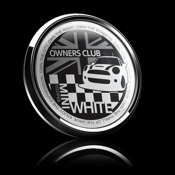 ゴーバッジ(ドーム)(CD0385 - MINI OWNERSCLUB WHITE) - 画像2