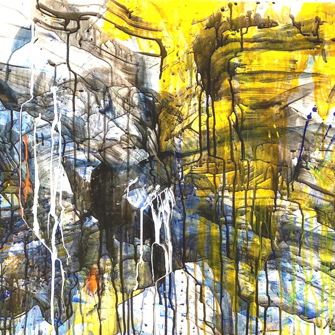 絵画 インテリア アートパネル 雑貨 壁掛け 置物 おしゃれ 抽象画 現代アート ロココロ 画家 : tamajapan 作品 : t-23