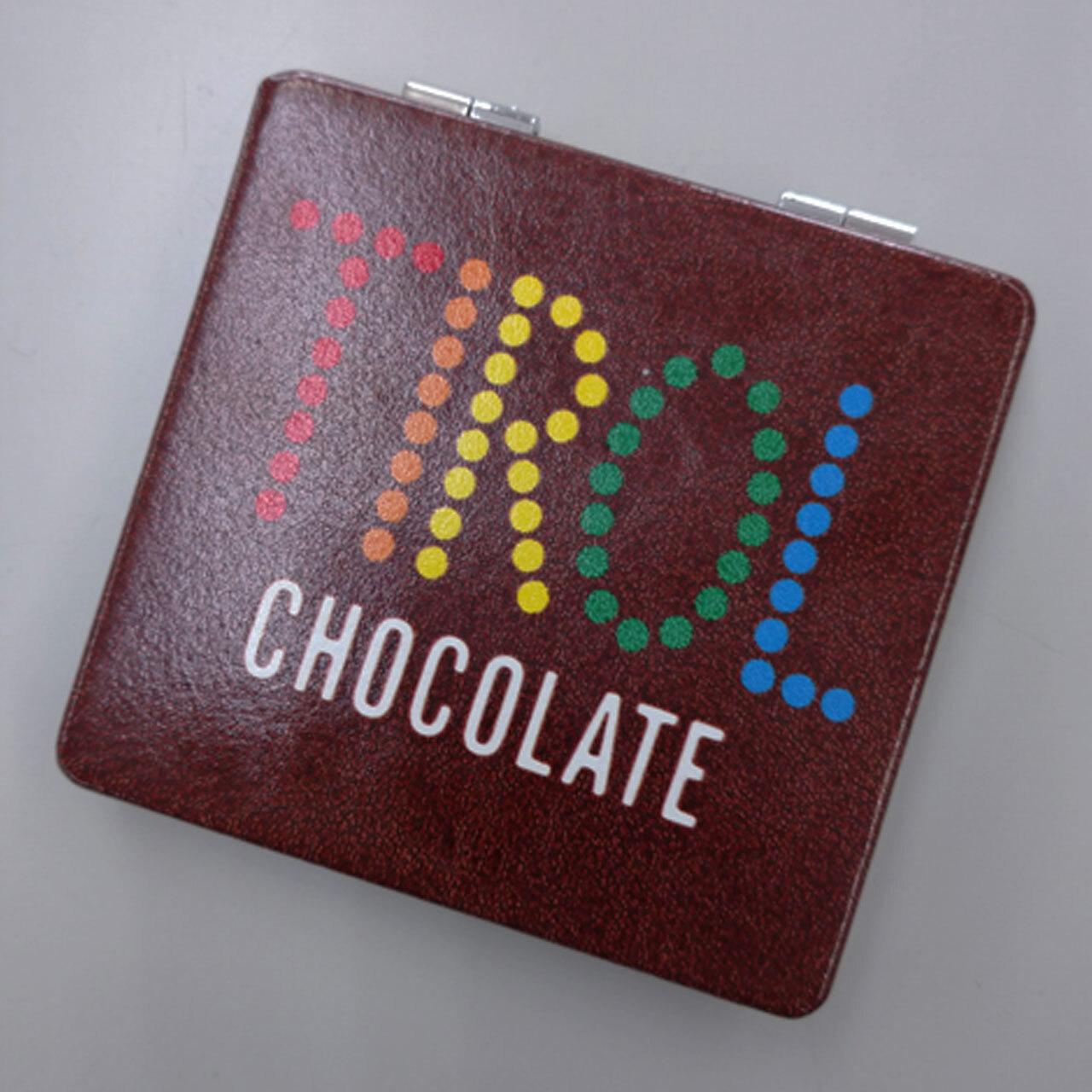 【4589839350556予】チロルチョコ  コーヒーヌガーコンパクトミラー