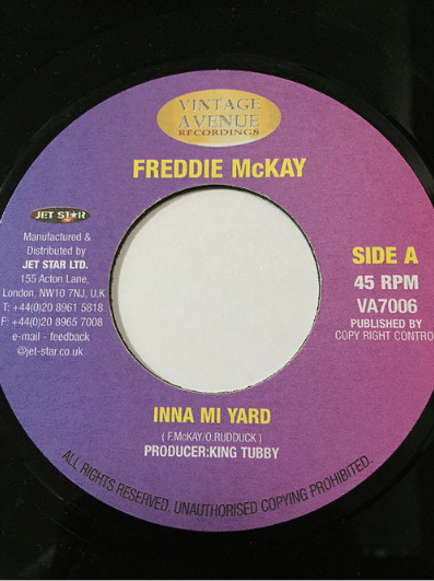 Freddie McKay(フレディマッケイ) - Inna Mi Yard【7'】