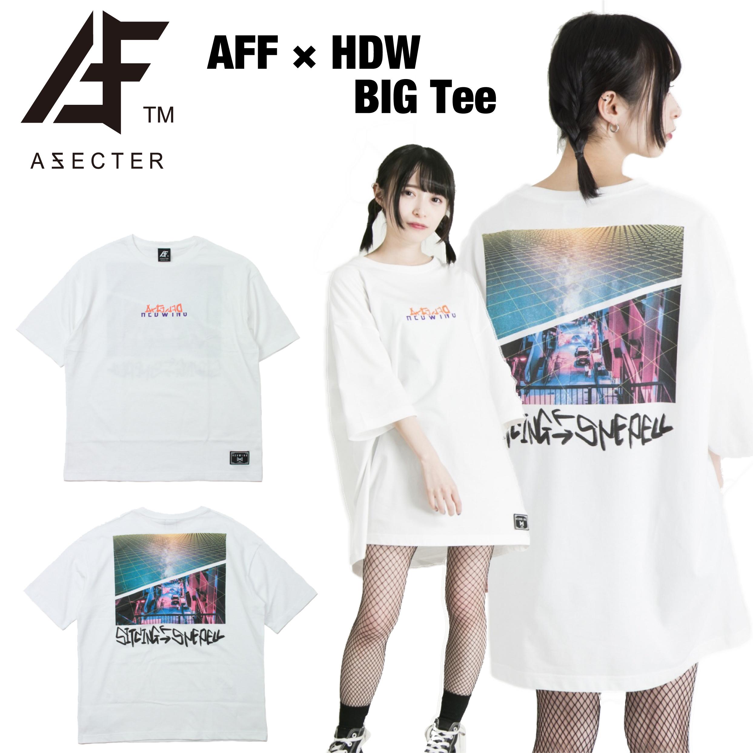 AFFECTER (アフェクター) | AFF × HDW BIG Tee