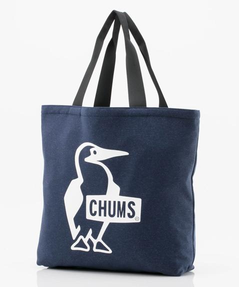 2018年春夏新作 CHUMS (チャムス) Sandy Booby Logo Tote Bag (サンディーブービーロゴトートバッグ) H/Navy (H/ネイビー)