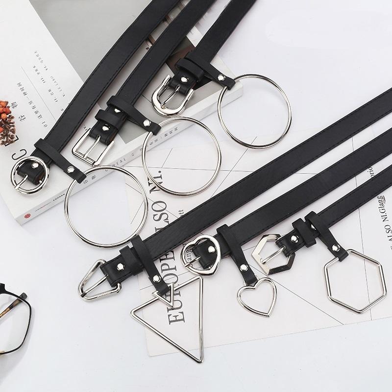 【goods】レトロ金属飾り女性のシンプルベルト16406395