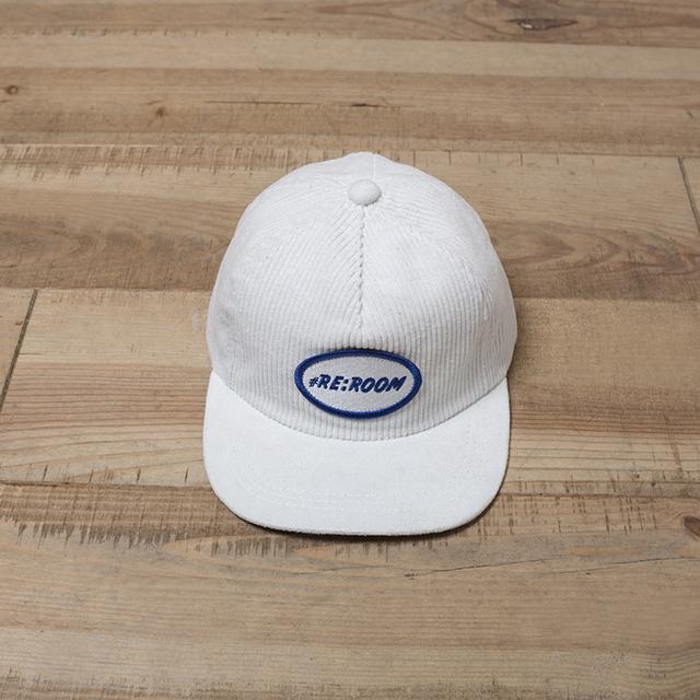 LOGO PATCH CORDUROY CAP[REH043]