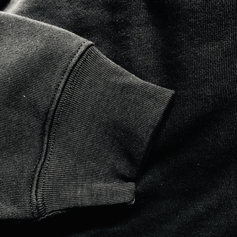 バブルボブル 相良(サガラ)刺繍 パーカー ( ブラック ) / VIDEO GAME TOKYO
