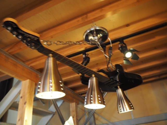 品番0266 ギターランプ / Guitar Lamp 011