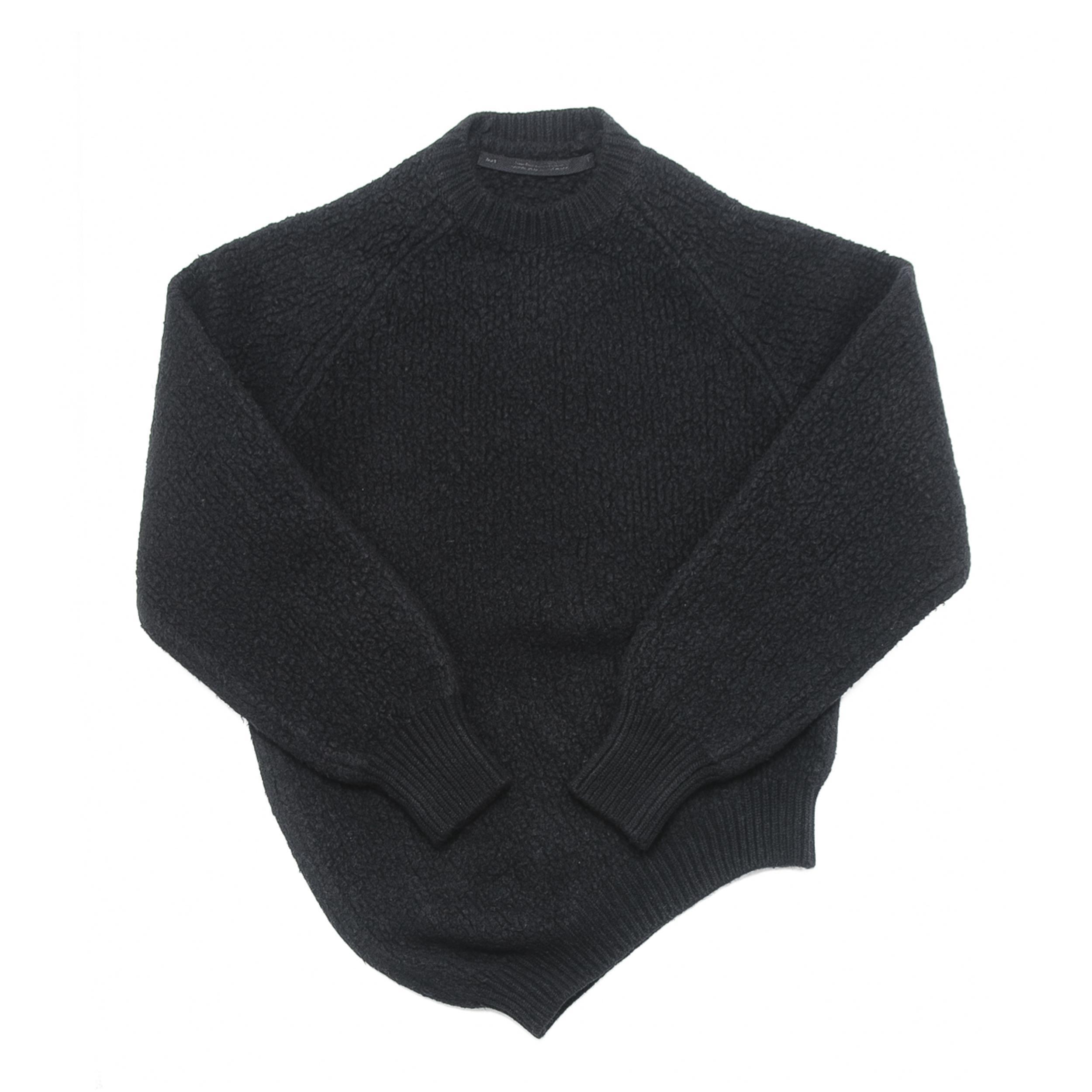 677KNM4-BLACK / ドレーピングセーター