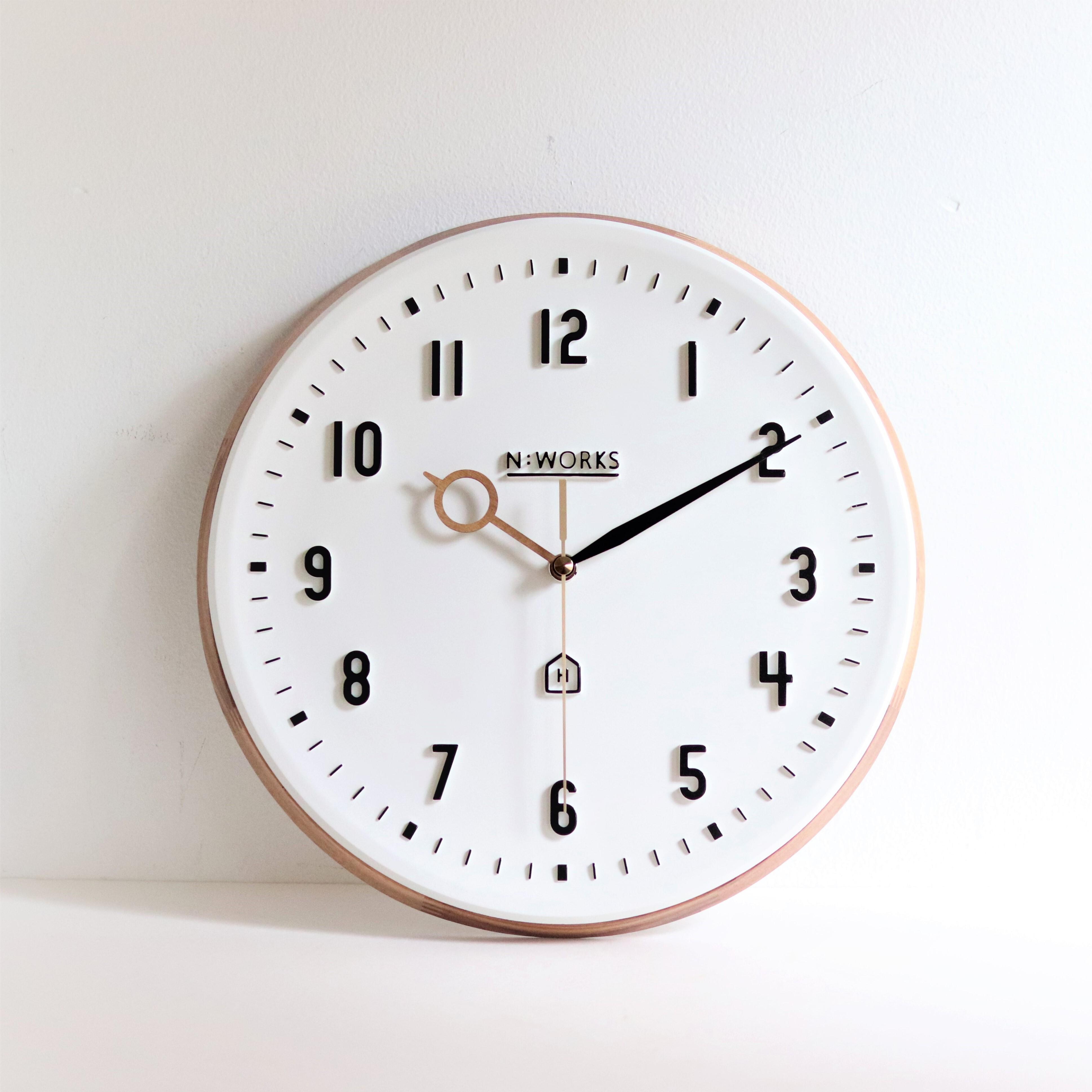 再入荷!【雑貨・インテリア】壁掛け時計 Kemppi【2054】