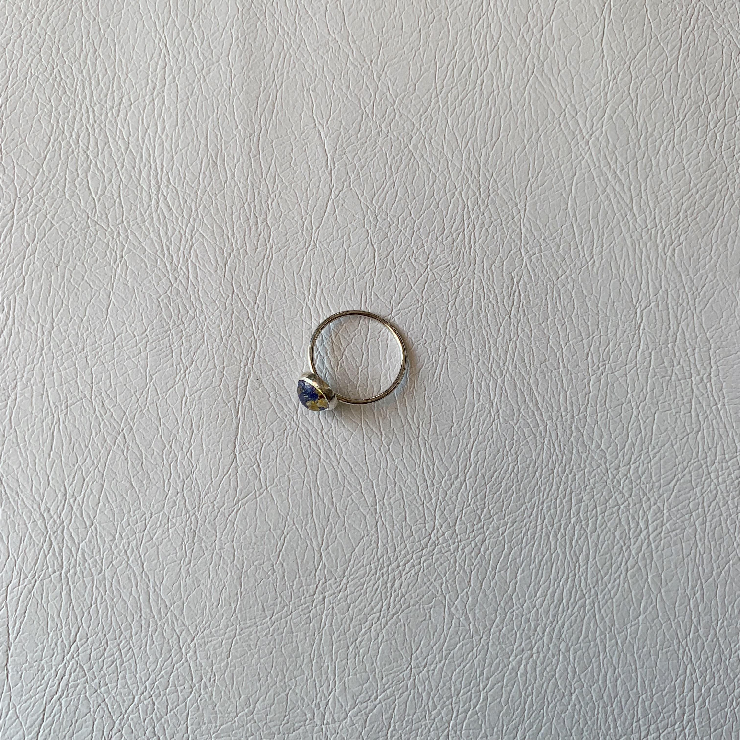 指元を飾るハーブ