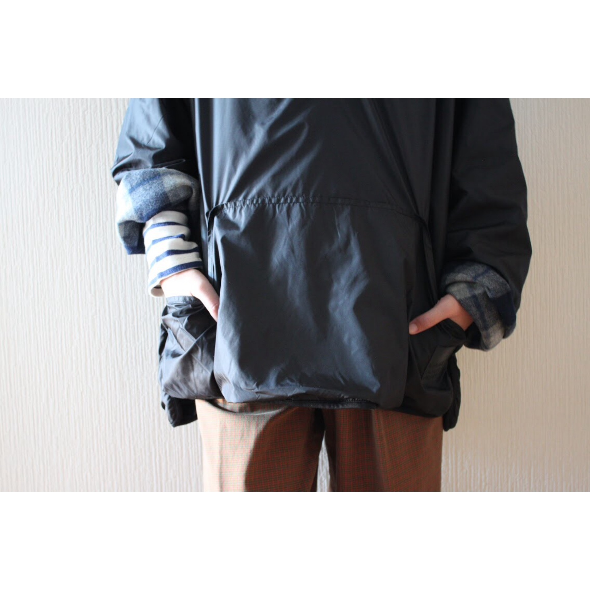 Reversible pullover jacket by Marithé + François Girbaud