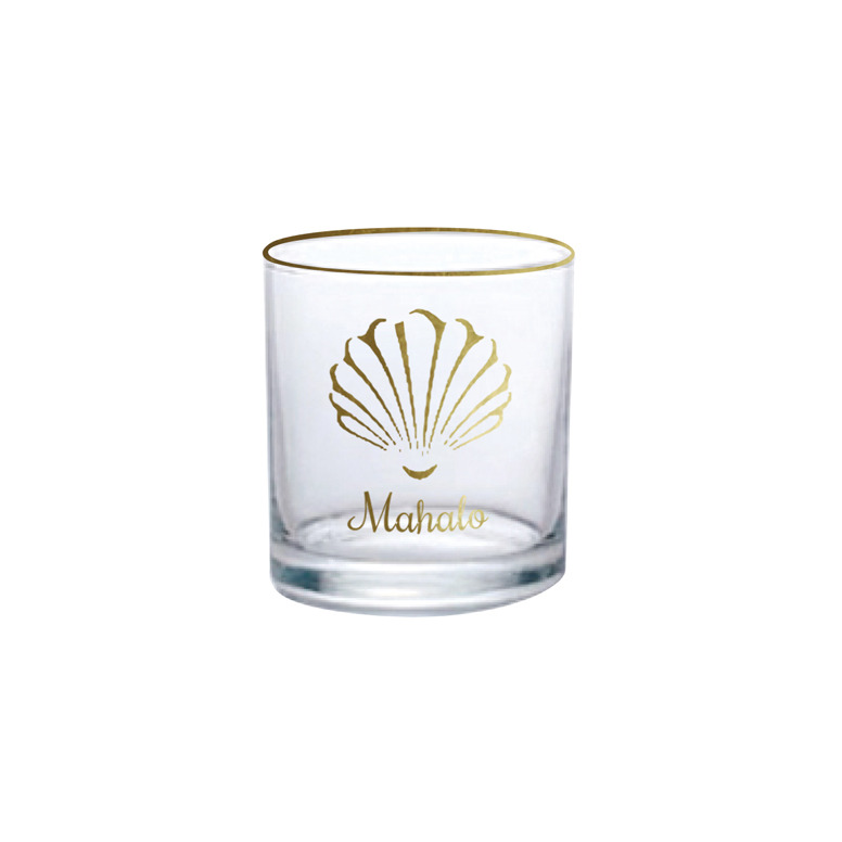 Mahalo & a Shell Glass