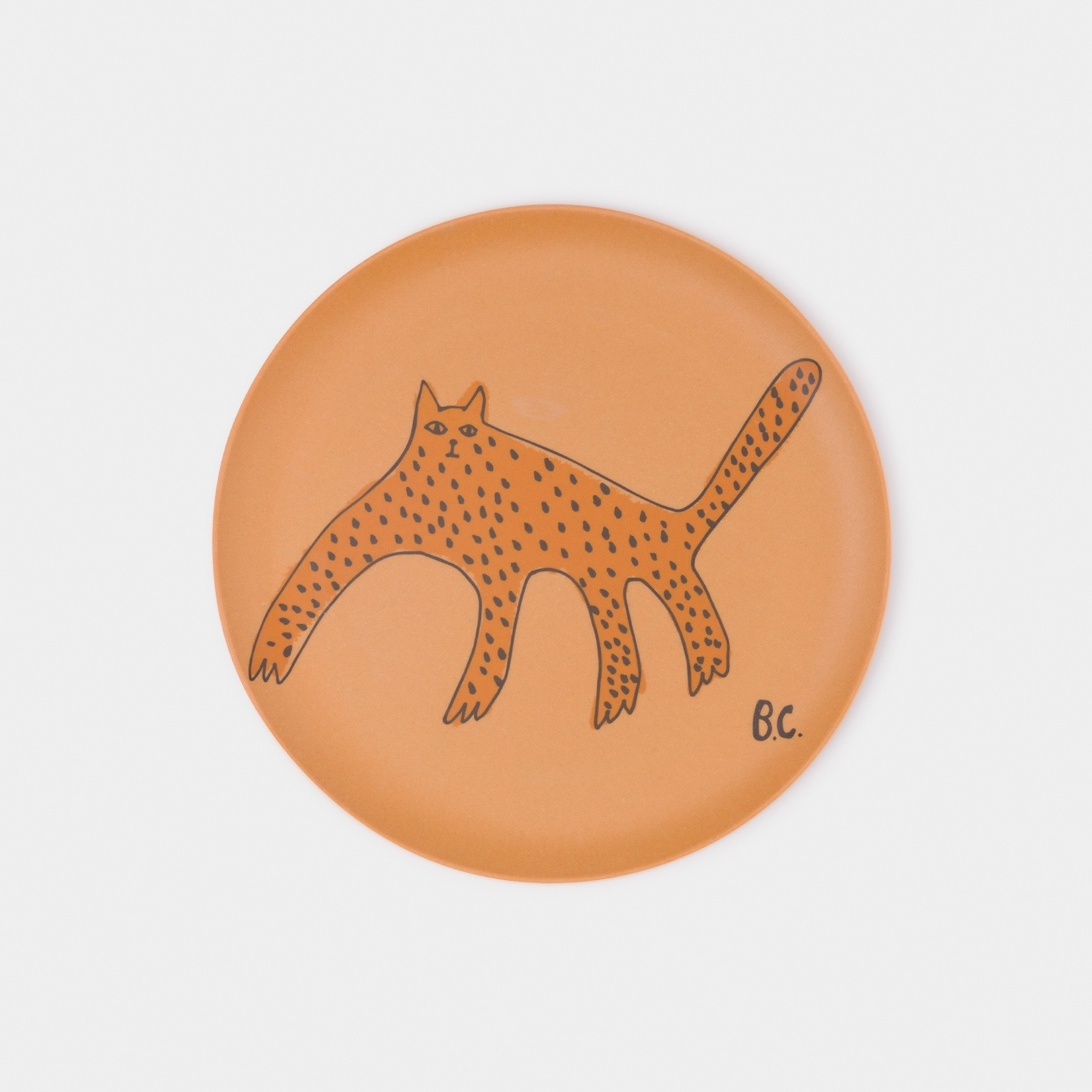《BOBO CHOSES 2020SS》A Dance Romance Bamboo Plates / pack of 4