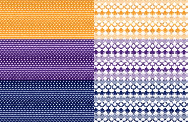 【割引】KASANE3色セット  藍・京紫 ・山吹   A3(ポーセリンアート転写紙)