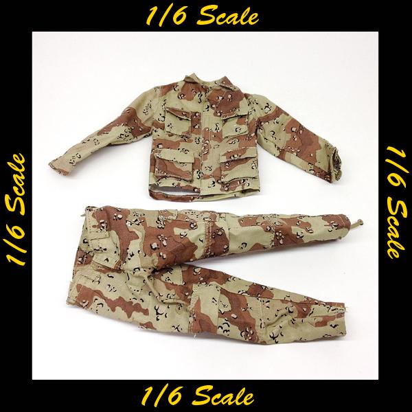 【01839】 1/6 Soldier Story 戦闘服 チョコチップ