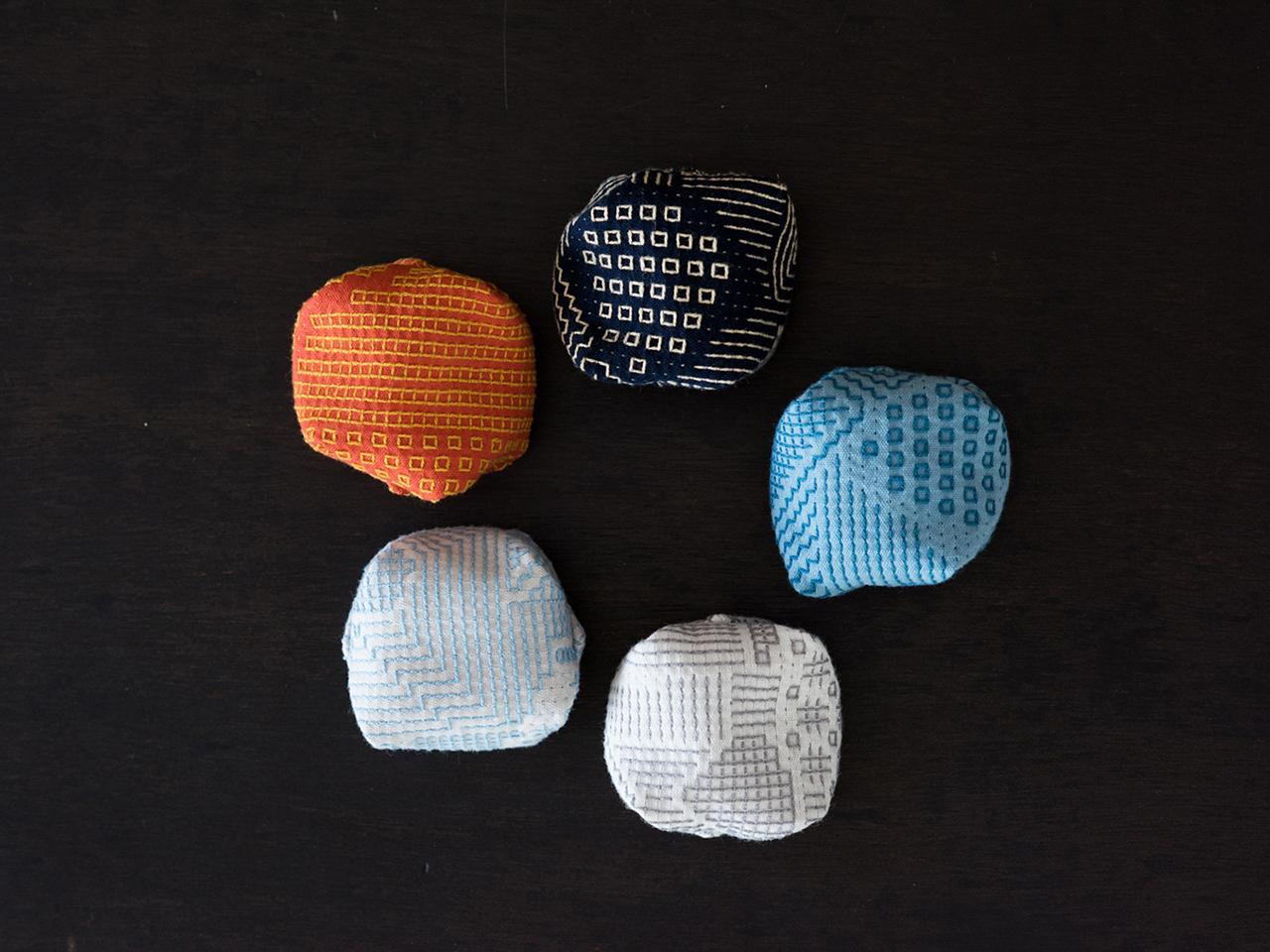 十布|刺子織のお手玉キット