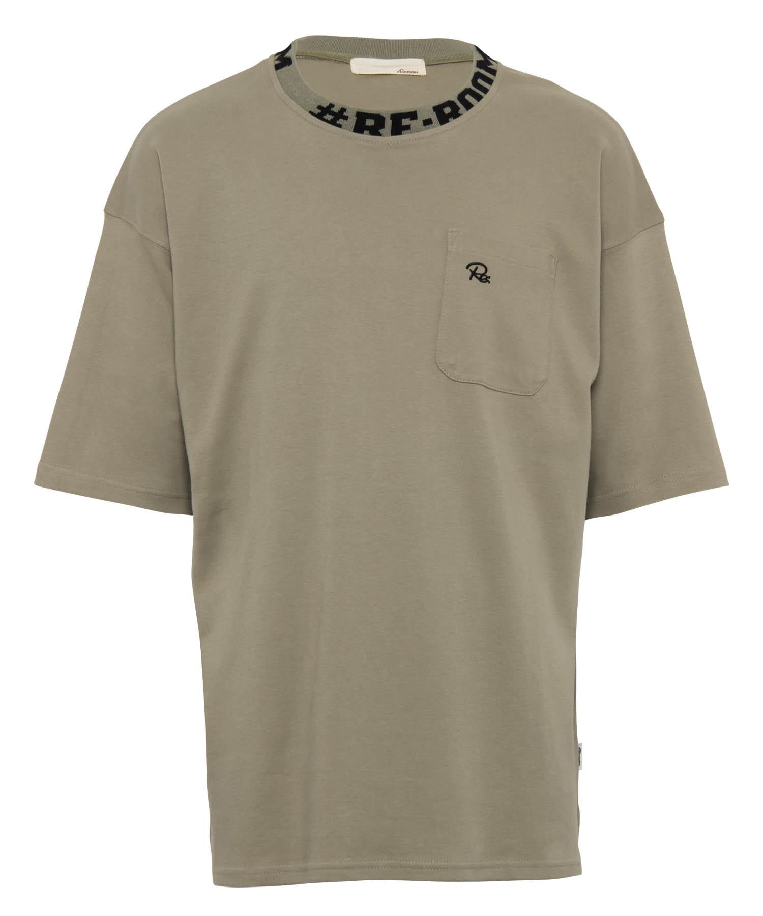 NECK LOGO BIG T-shirt[REC386]