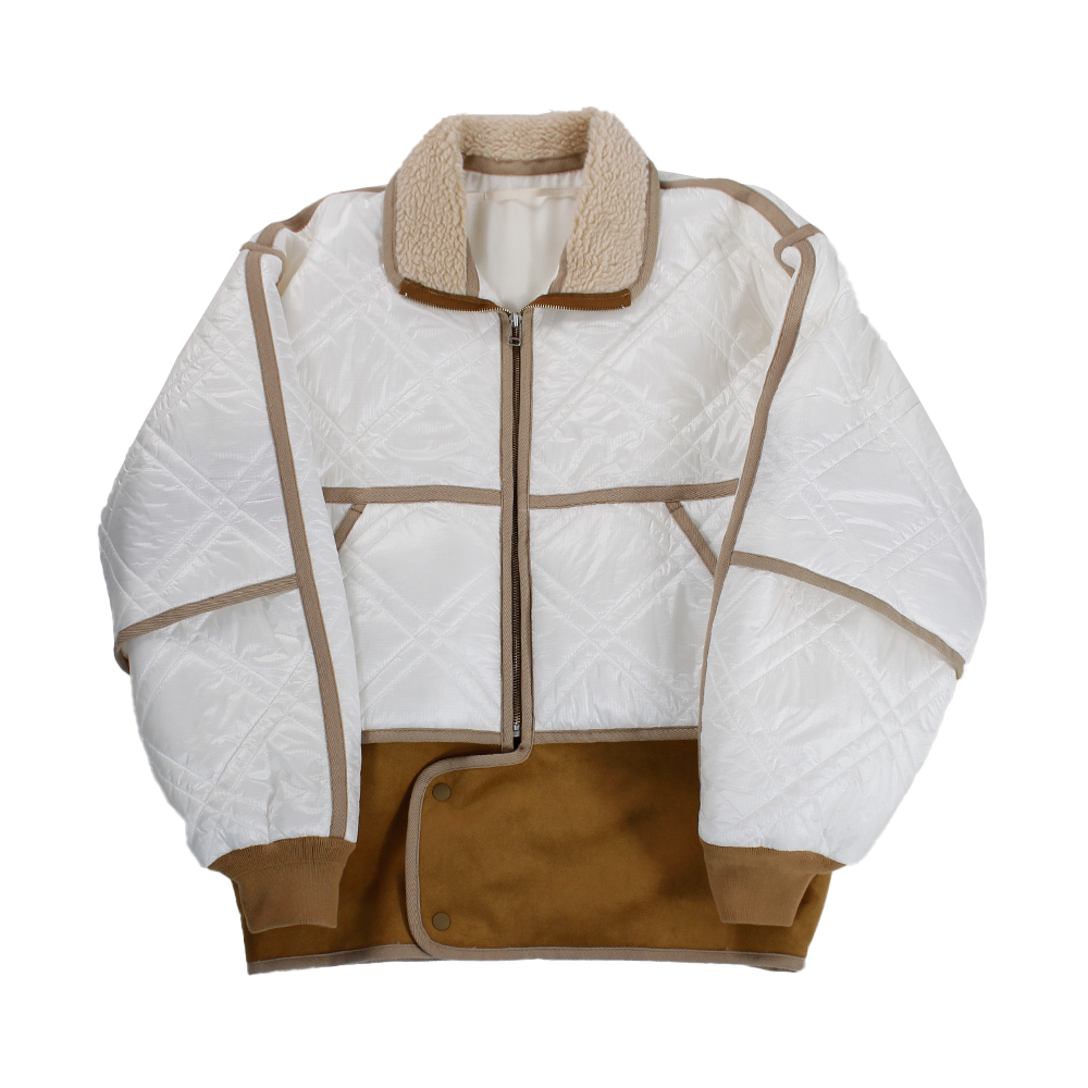 SHEBA Quilted Blouson