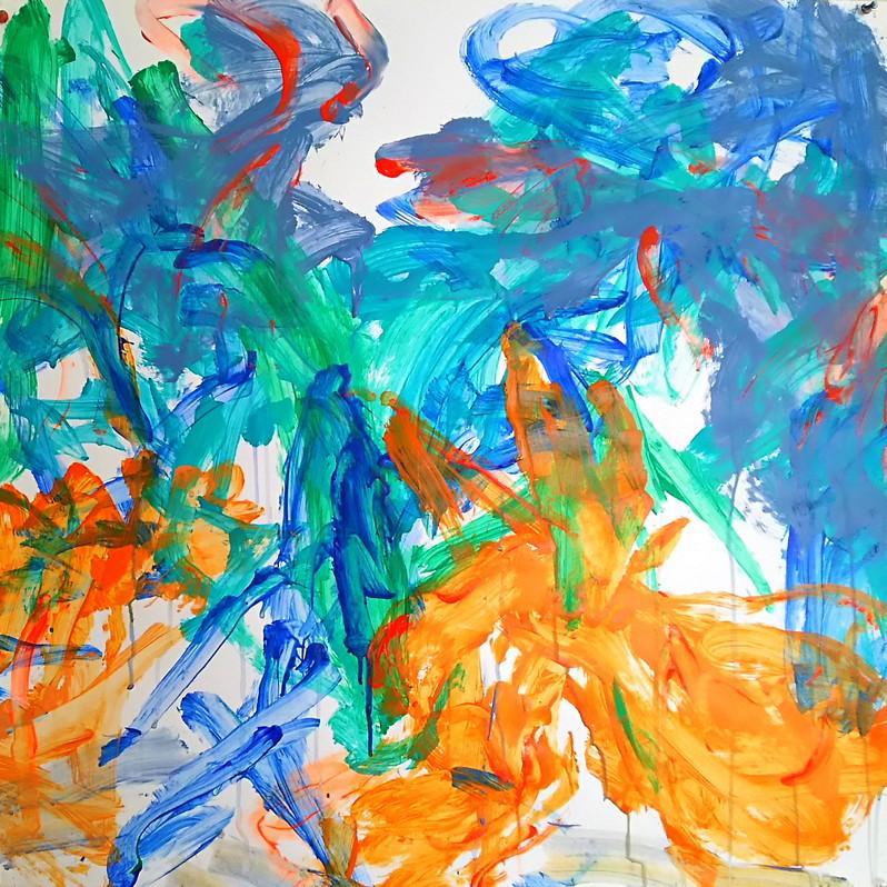絵画 インテリア アートパネル 雑貨 壁掛け 置物 おしゃれ 抽象画 現代アート ロココロ 画家 : tamajapan 作品 : t-16