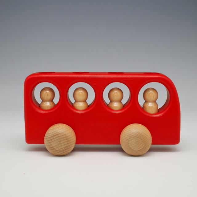 ケラー 4人乗りバス 赤