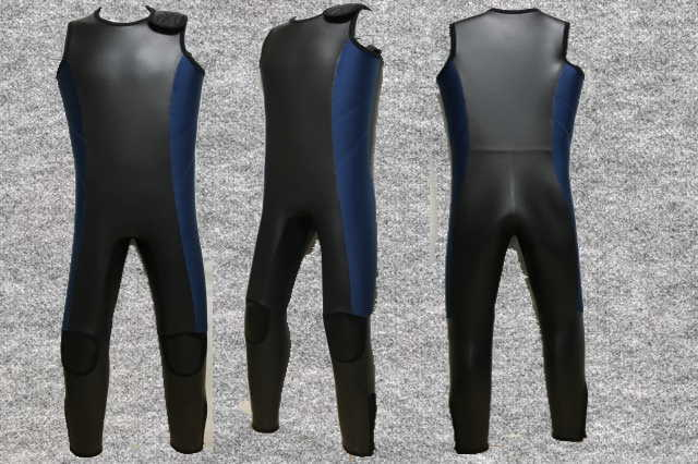 ダイビングフラットスキン5mmロングジョン肩ベルクロwsm1705FS(フルオーダー料込)
