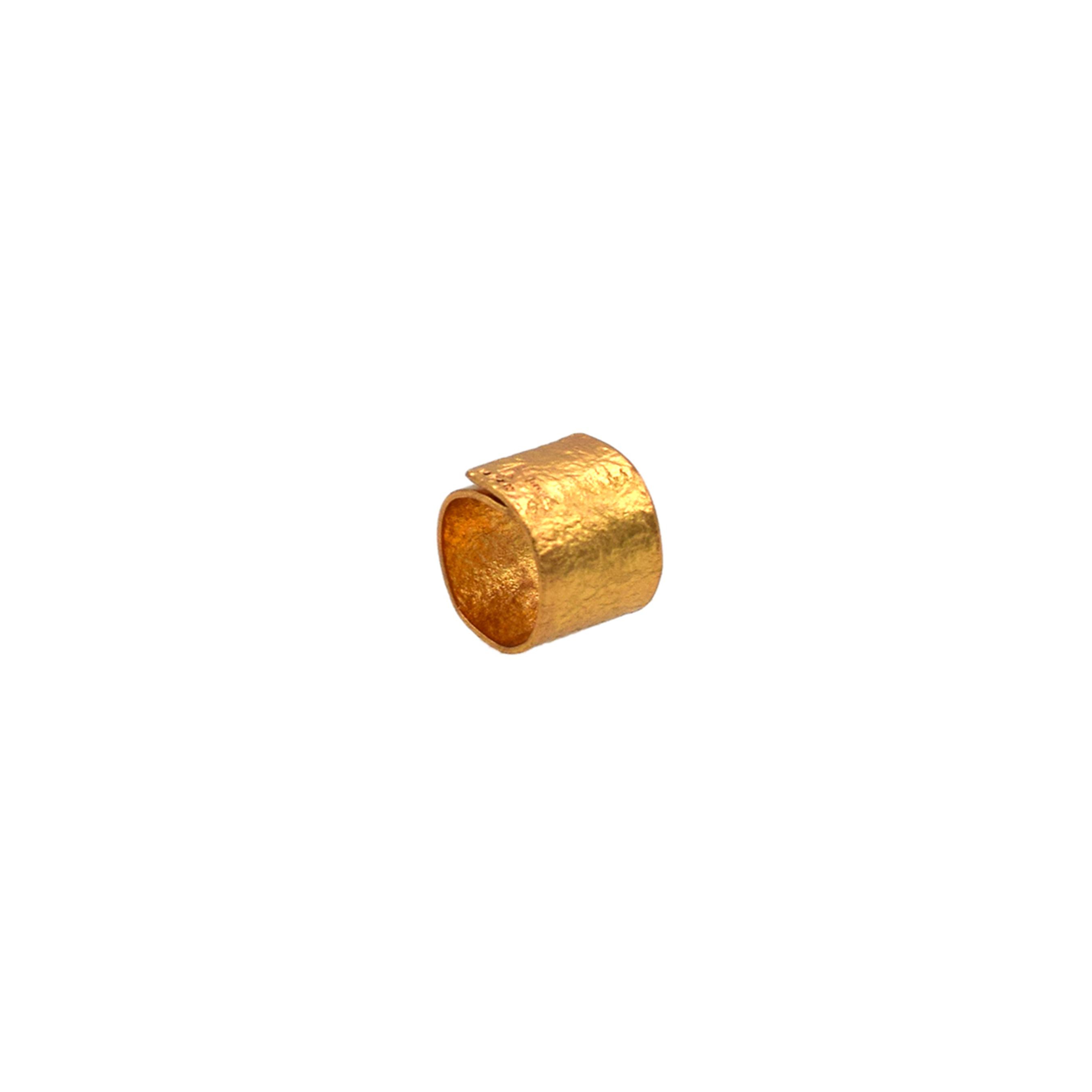 《リング》TIN BREATH Ring 20×80 mm Gold plate