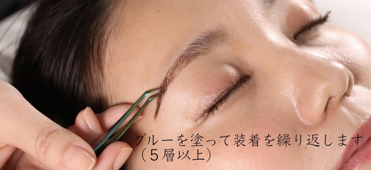 W BROW動画(テキスト・専用グルー&ケース付)