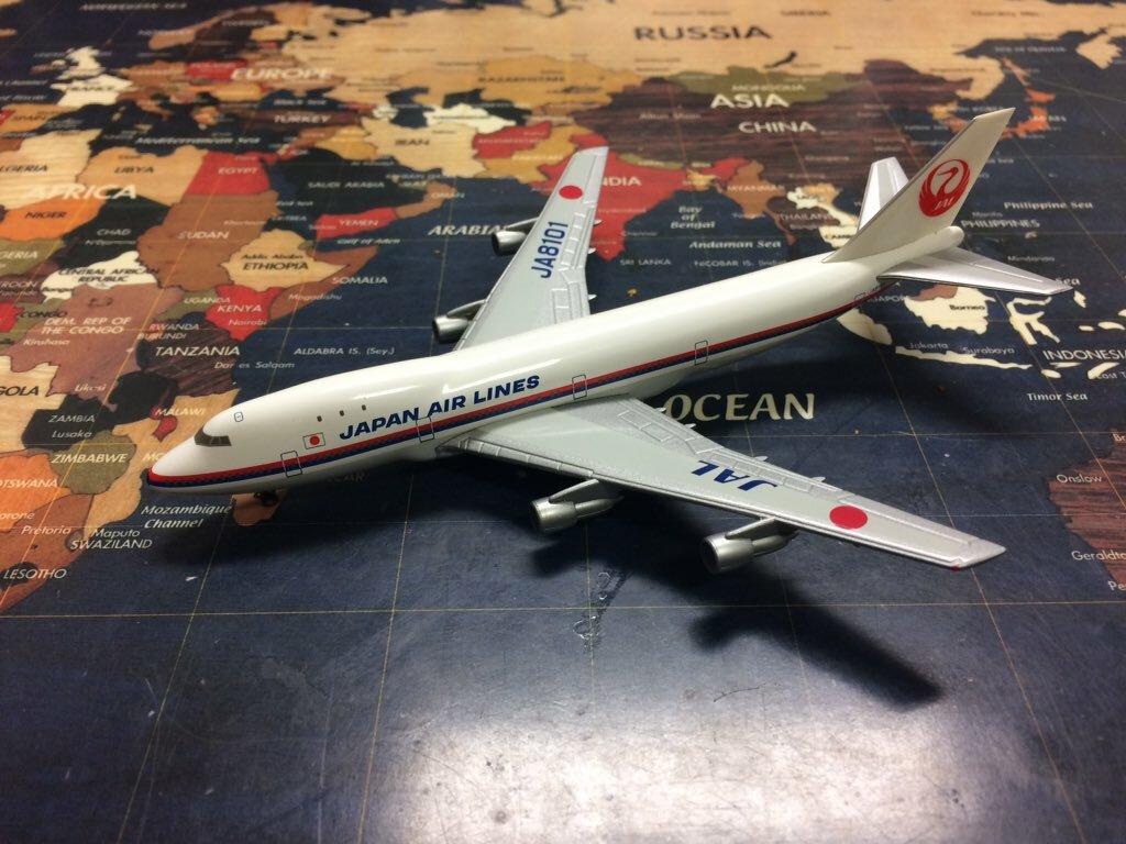 中古 JALUX/JAL永遠の翼シリーズ BOEING747-100 JAL JA8101 1/500