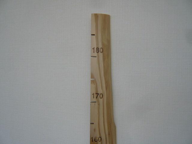 背くらべ 木製 - 画像3