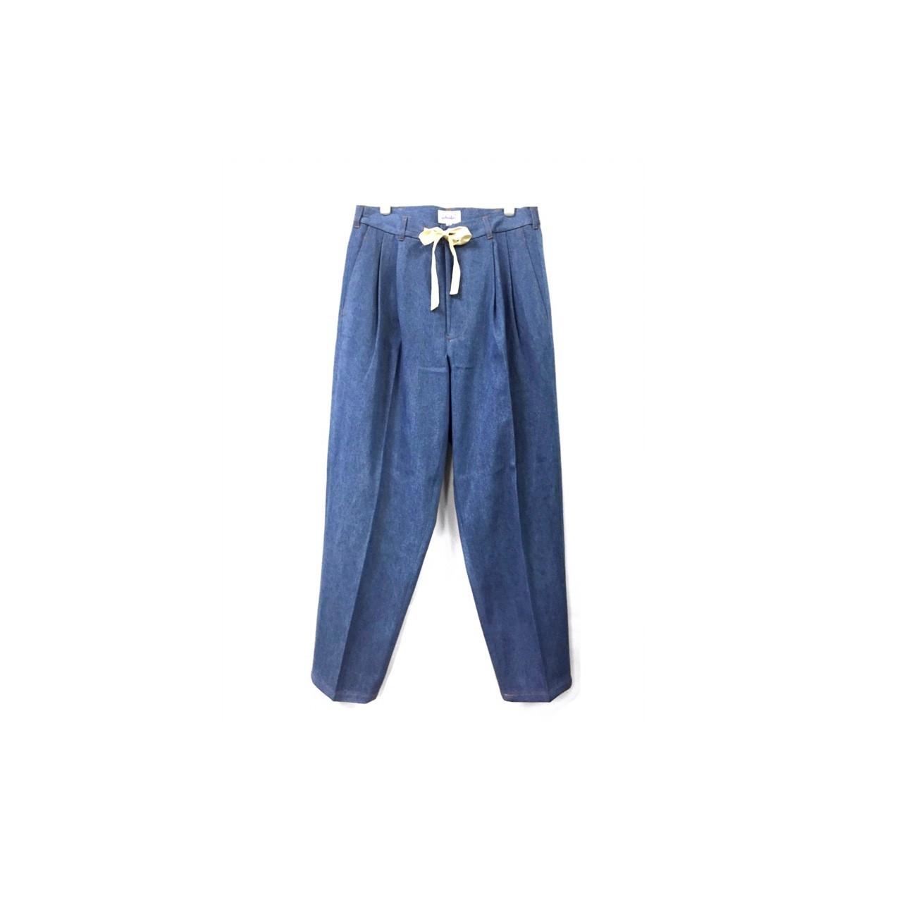 yotsuba - Denim Wide Pants / Wash ¥23000+tax