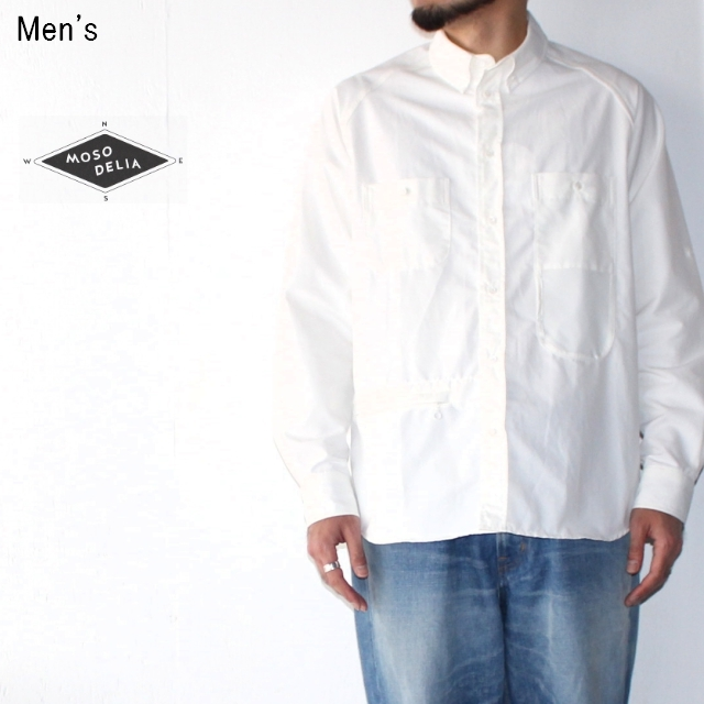 MOSODELIA ユースフルシャツ Useful Shirts 18SS-S-001 (WHITE)