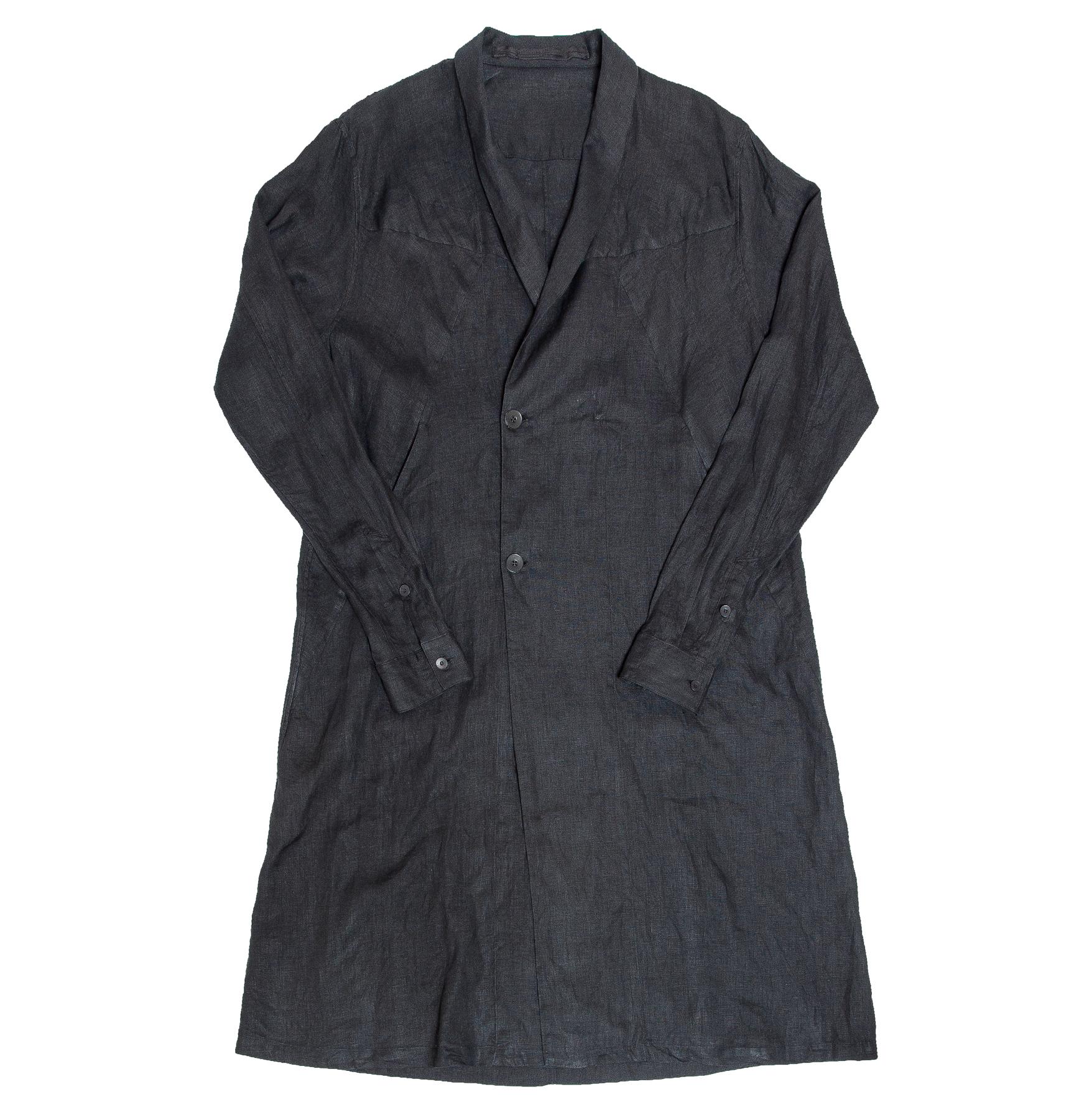 007COM3-BLACK / ガウンシャツ