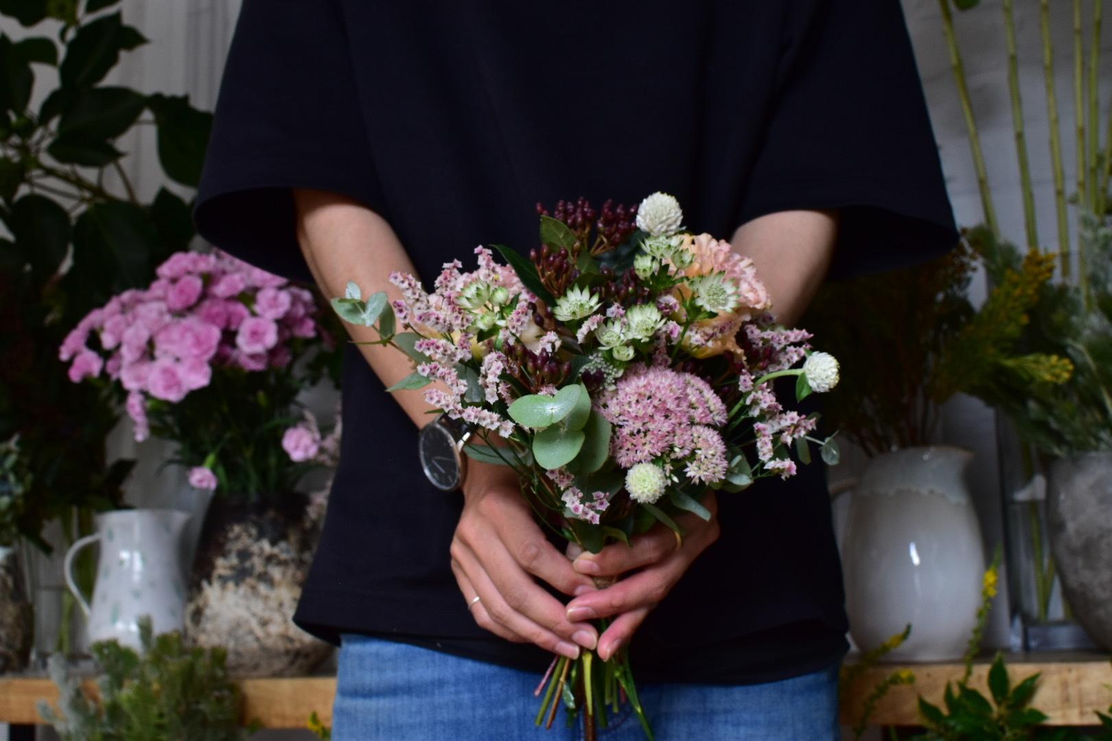 お花の定期便(10月17日AM便)