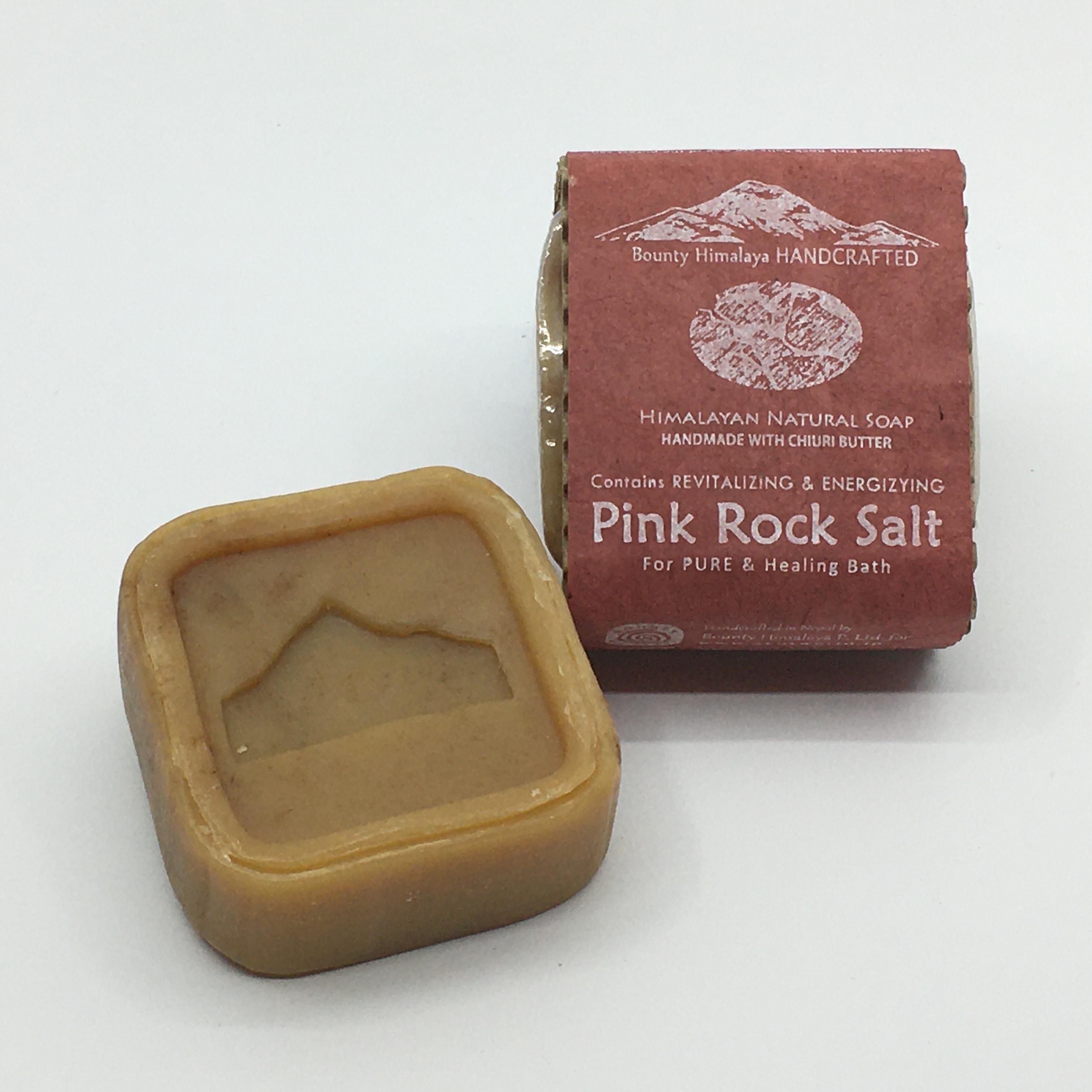 アーユルヴェーダピンクソルトソープ〈浄化〉Bounty Himalaya Pink Rock Salt Soap