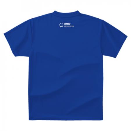 【ブルー/ホワイト】SHOEHURRY! ドライTシャツ