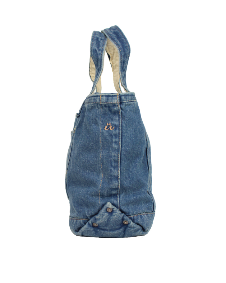 denim tote small Lot:90004 - 画像2