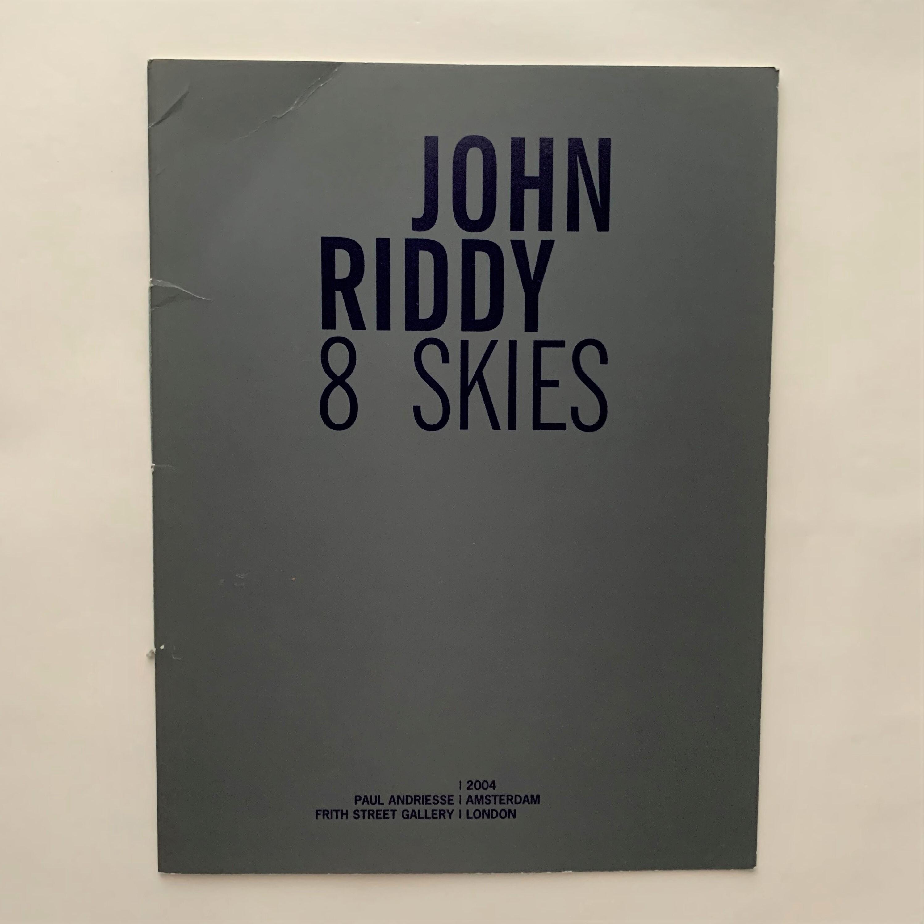 John Riddy - 8 Skies / ジョン・リディ