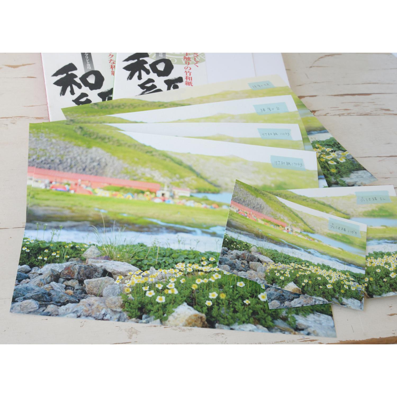 【畔印刷所】アワガミ 竹和紙110g/m2 A4サイズ プリントフチなし