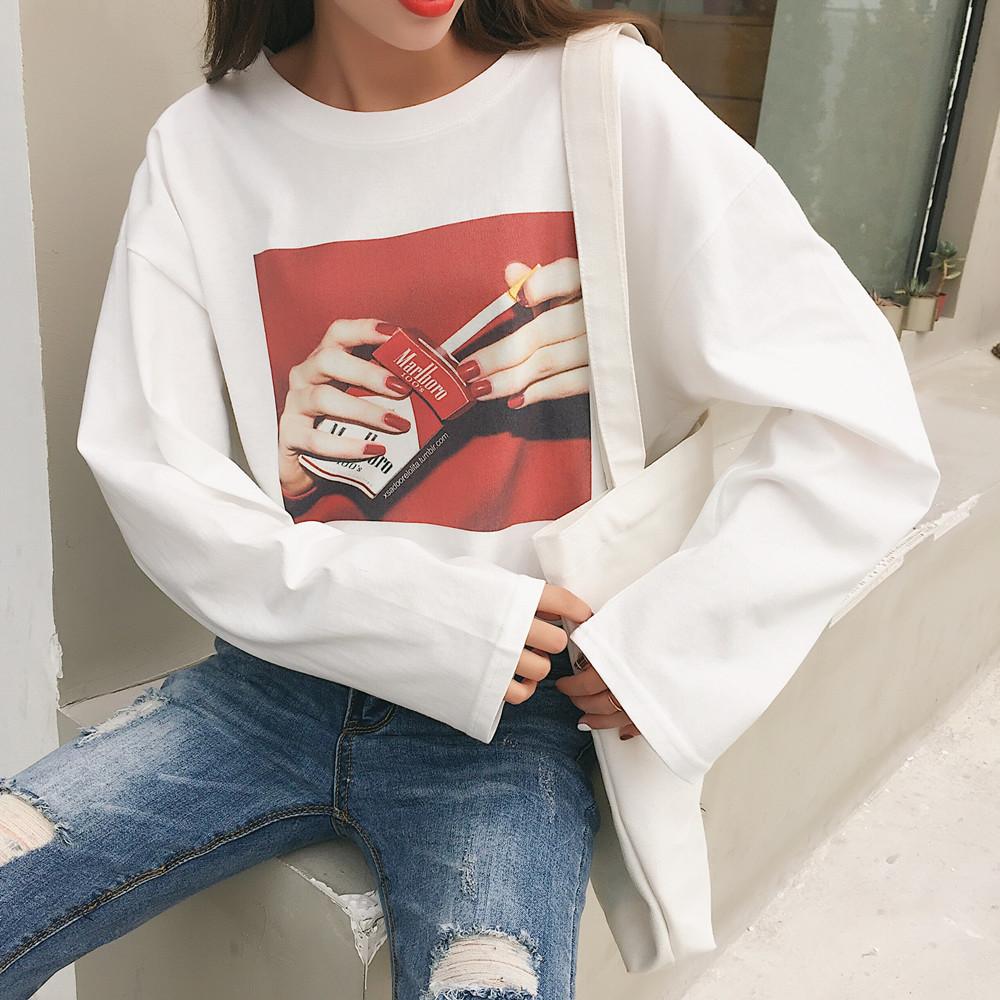 【tops】定番プリントラウンド売れ筋ネックTシャツ20640887