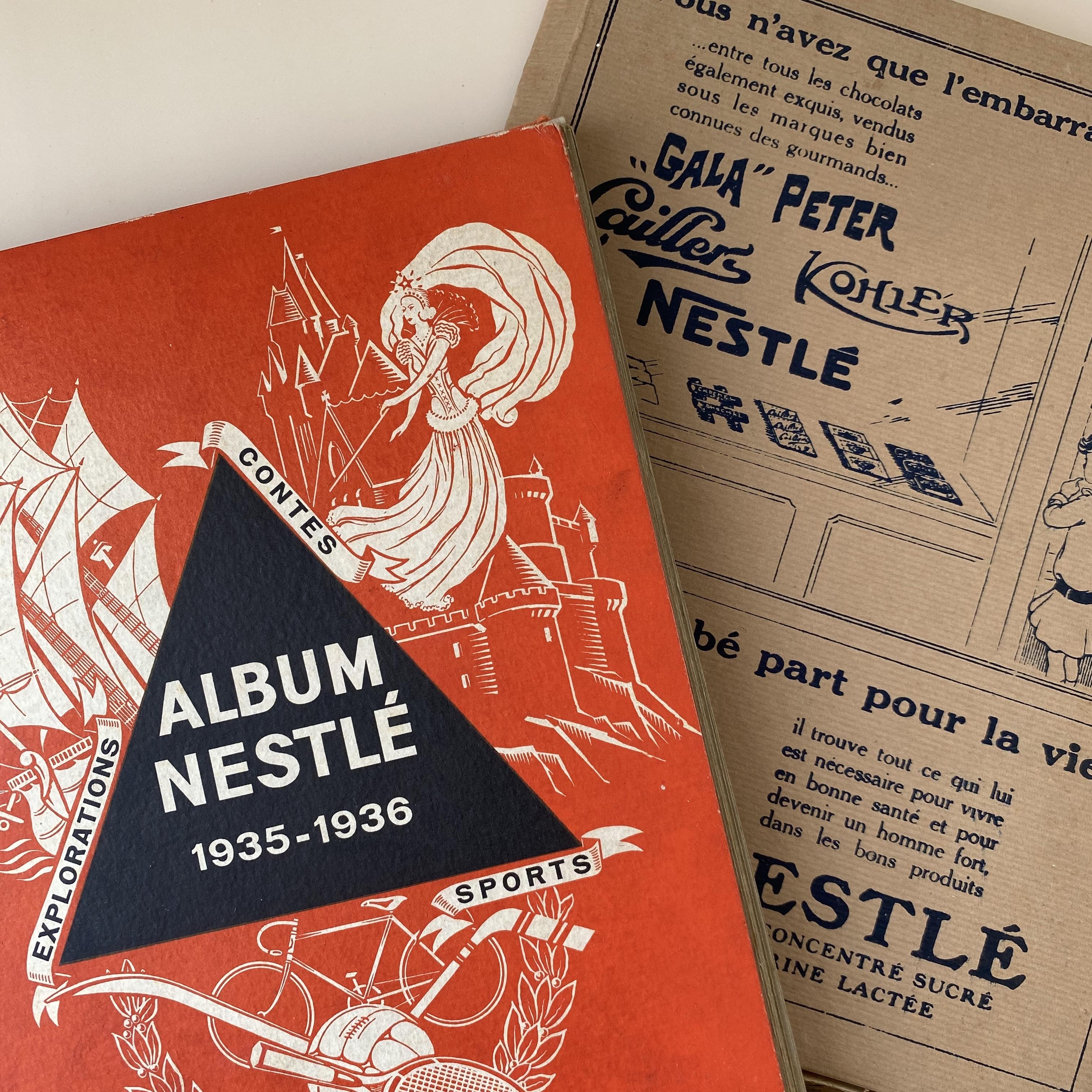 Nestlé おまけカードアルバム 1935-1936  / vp0106