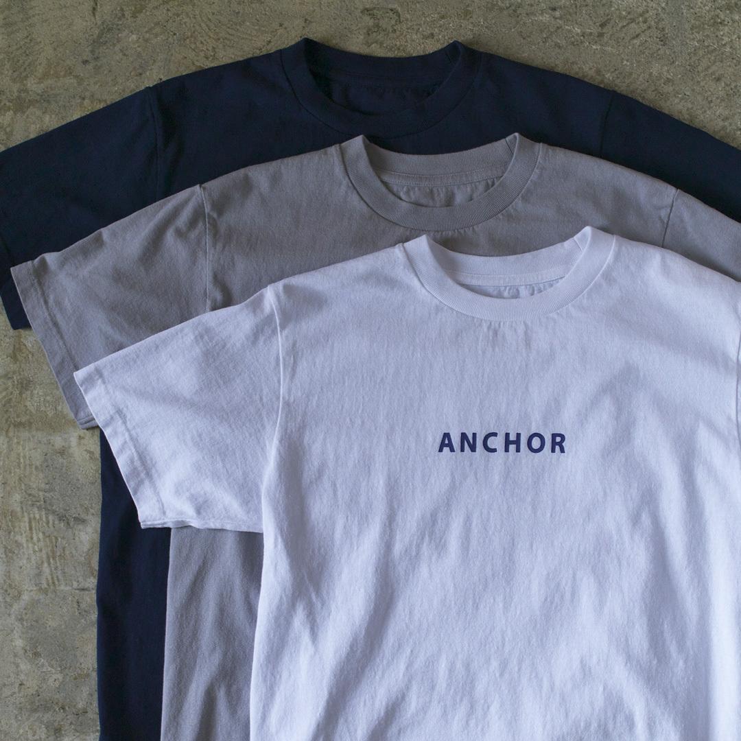 快晴堂 カイセイドウ 海上がりUNI Tシャツ ANCHOR アンカー【メンズ】