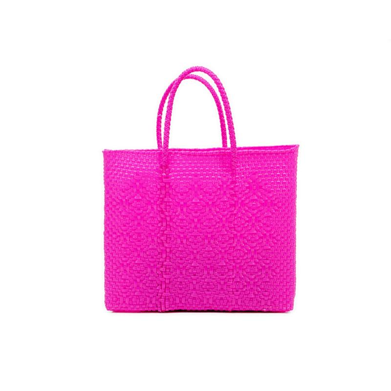 MERCADO BAG ROMBO - Pink (XS)
