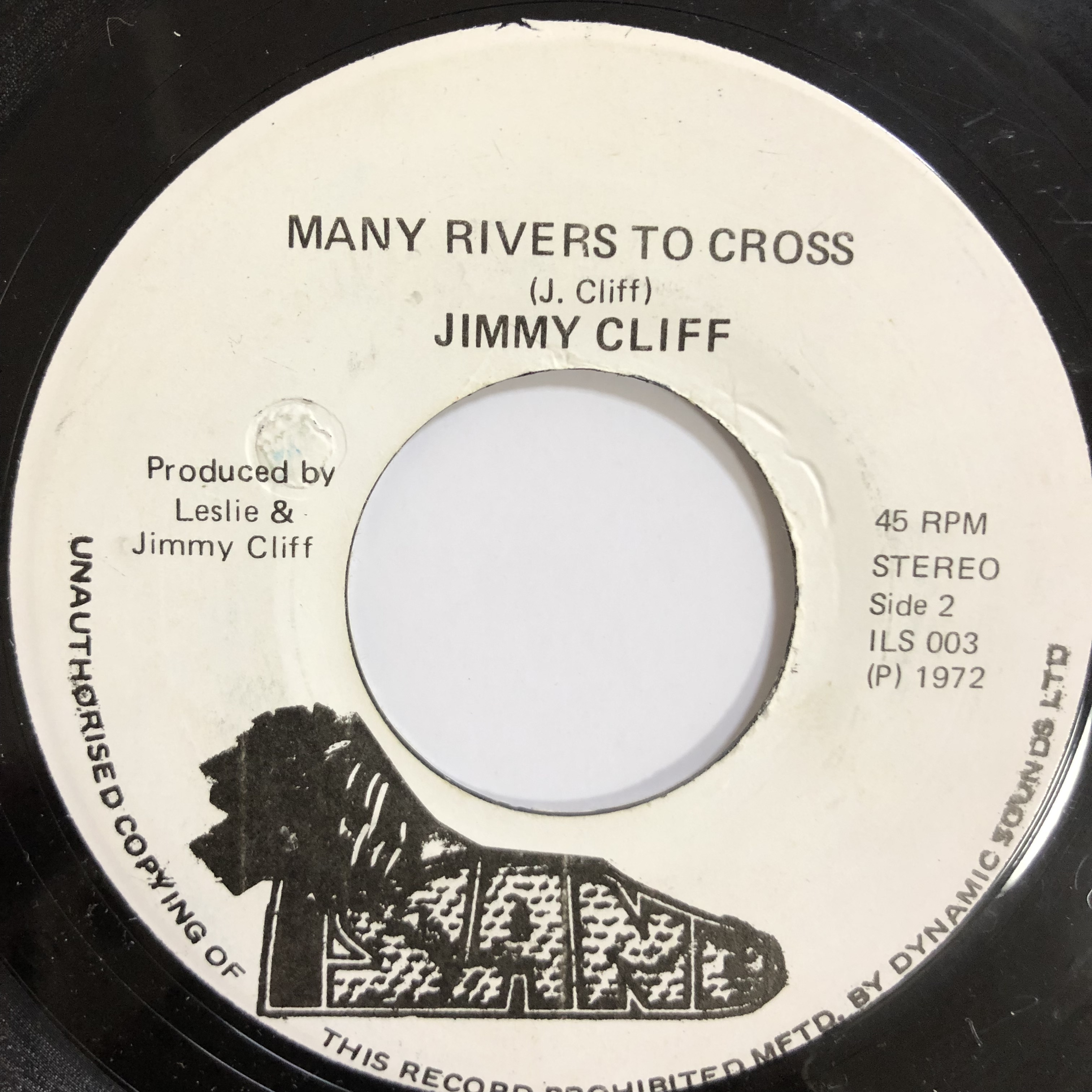 Jimmy Cliff(ジミークリフ) - Many Rivers To Cross【7-20177】