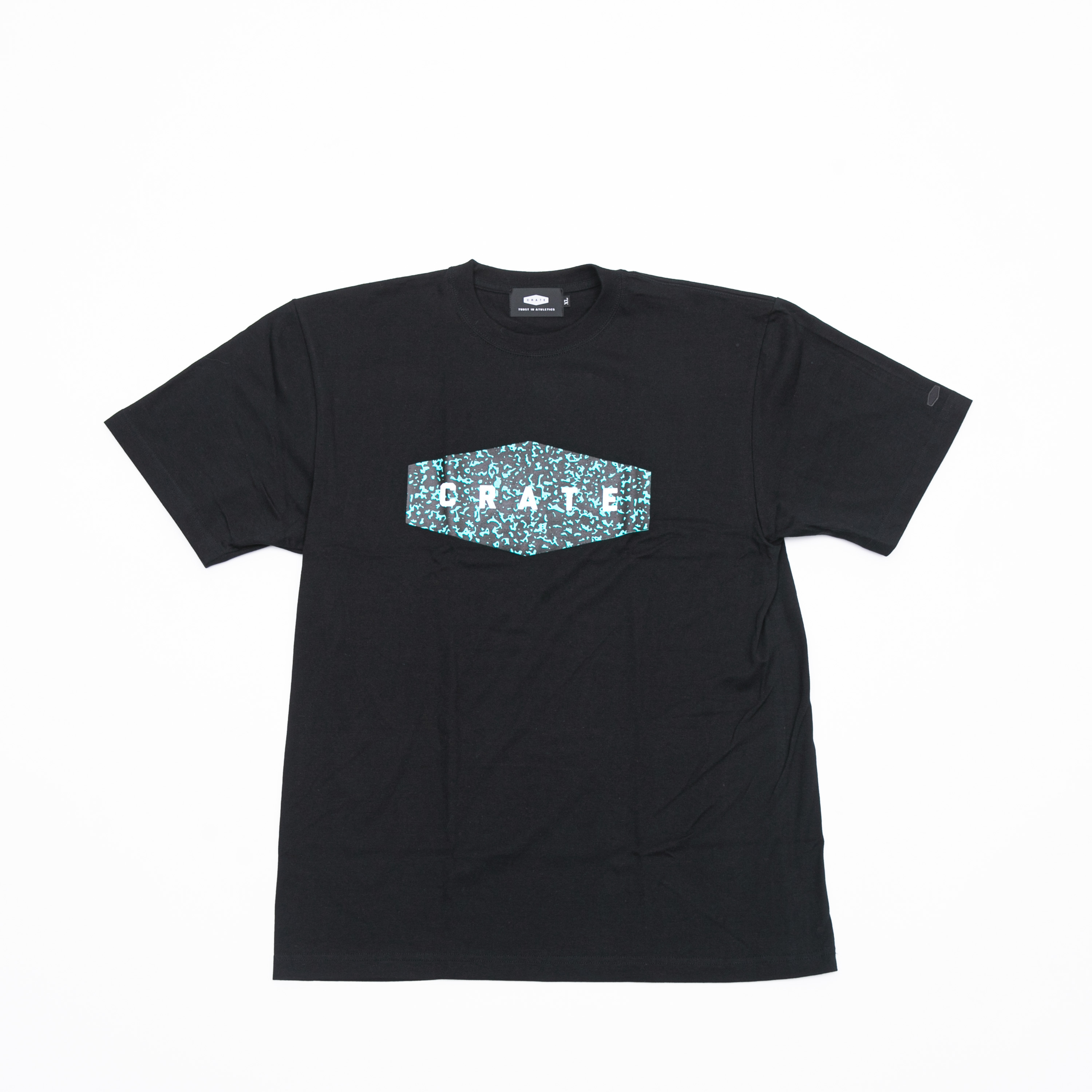 NOTE BOOK T-SHIRTS BLACK×GREEN