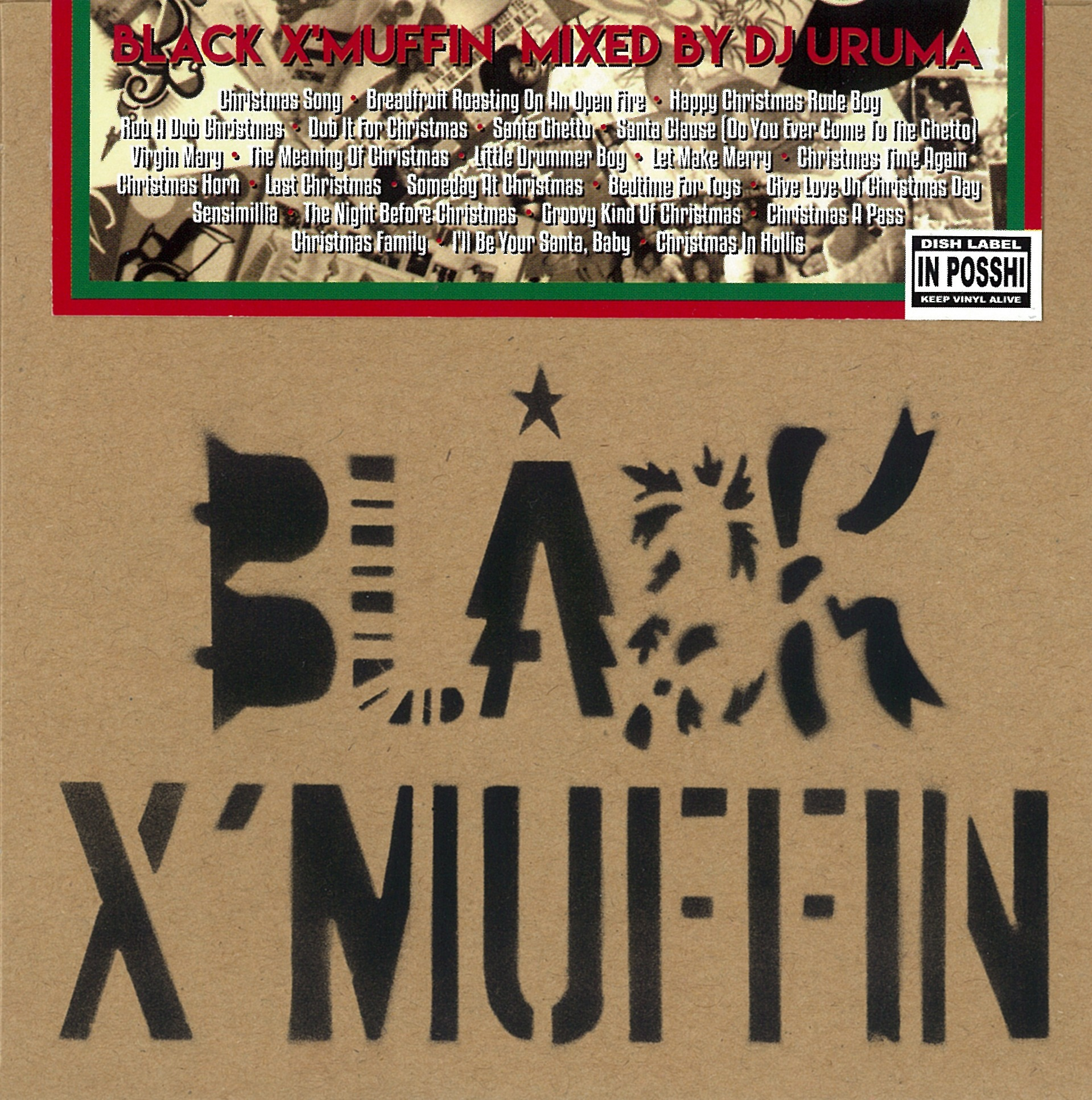 [MIX CD] DJ URUMA / BLACK X'MUFFIN