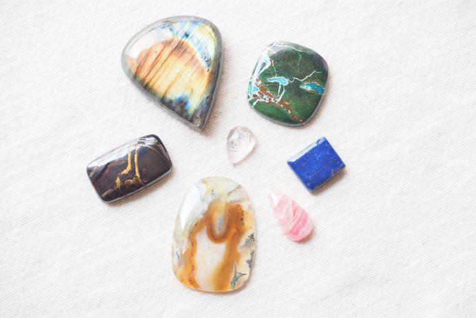 【H】天然石ルースセット