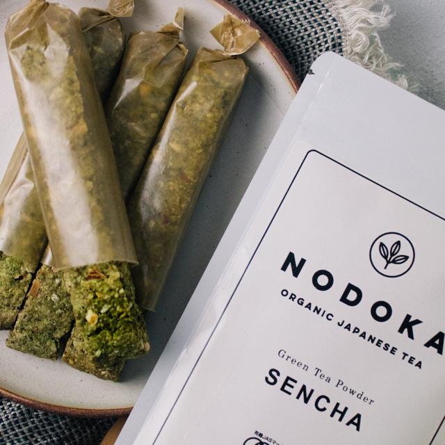 """""""ジャパニーズティー""""をまるごと食べる。NODOKA煎茶パウダー"""