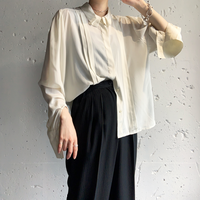 made in France vintage blouse