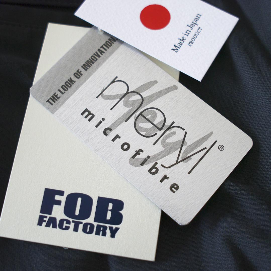 FOB FACTORY エフオービーファクトリー F0455 DEPARTURE デパーチャー・61:ブラック【MEN'S】