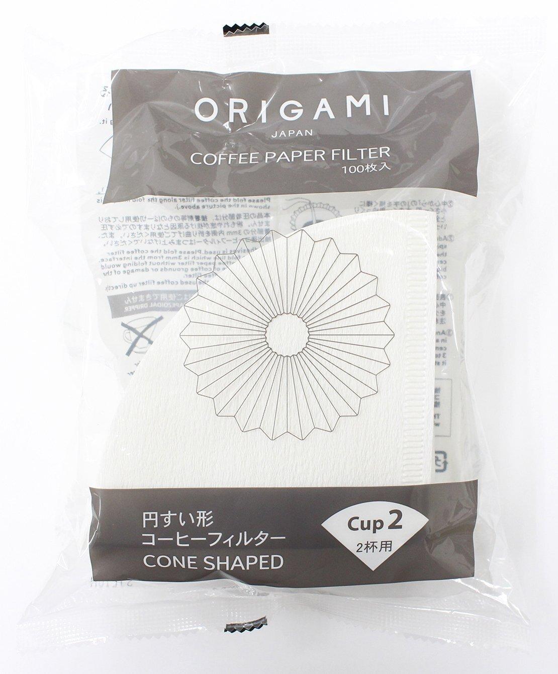 ORIGAMI ペーパーフィルター Sサイズ(1~2杯用)