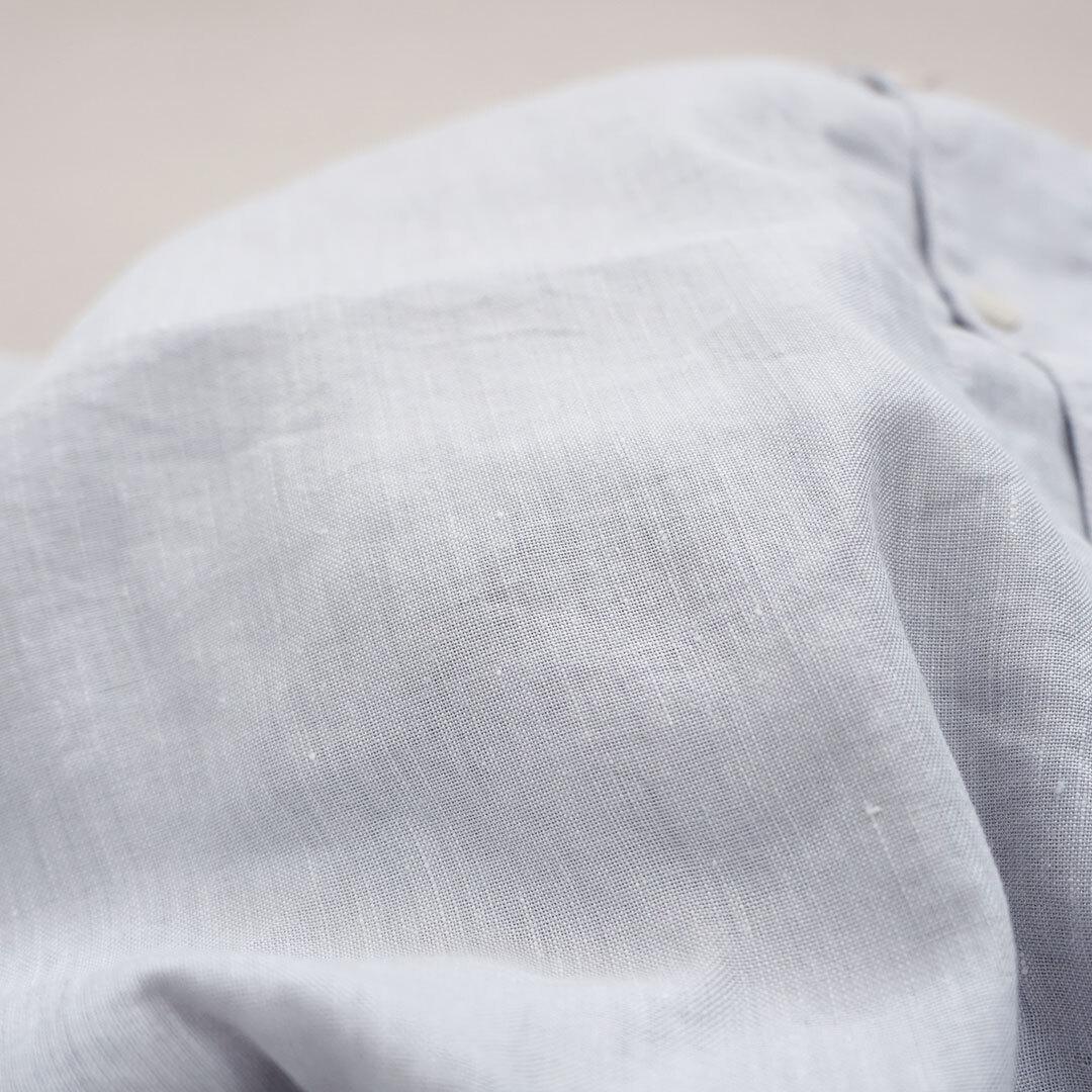 【再入荷なし】 HARVESTY ハーベスティ SHORT SLEEVE ATELIER ROBE(LINEN×COOLMAX) 半袖アトリエローブ(リネン×クールマックス) 正規取扱店 (品番a42002)